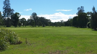 Picturemullumbimby golf course view down the first